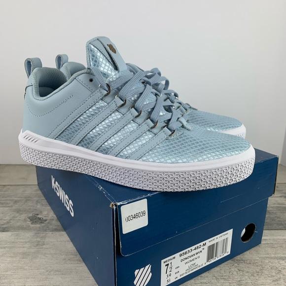 K-Swiss Shoes   Nib Kswiss Baby Blue
